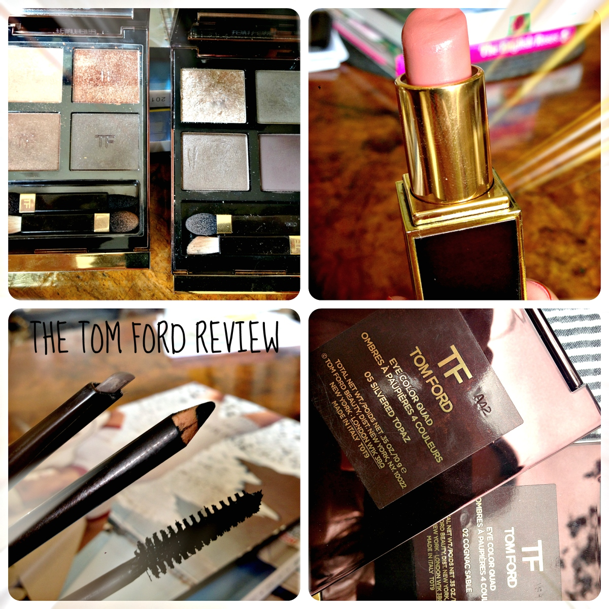 The Tom Ford Makeup Review