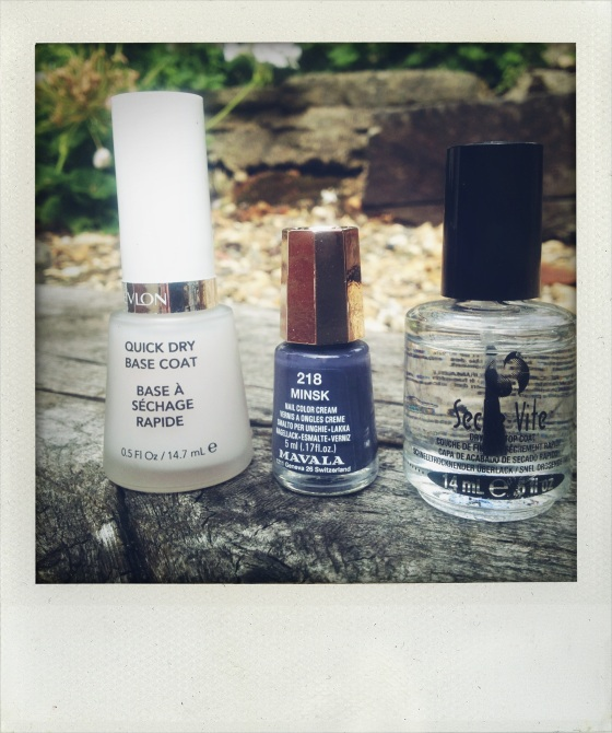 Anna Talks Beauty Nail varnish mavala Revlon Seche vite