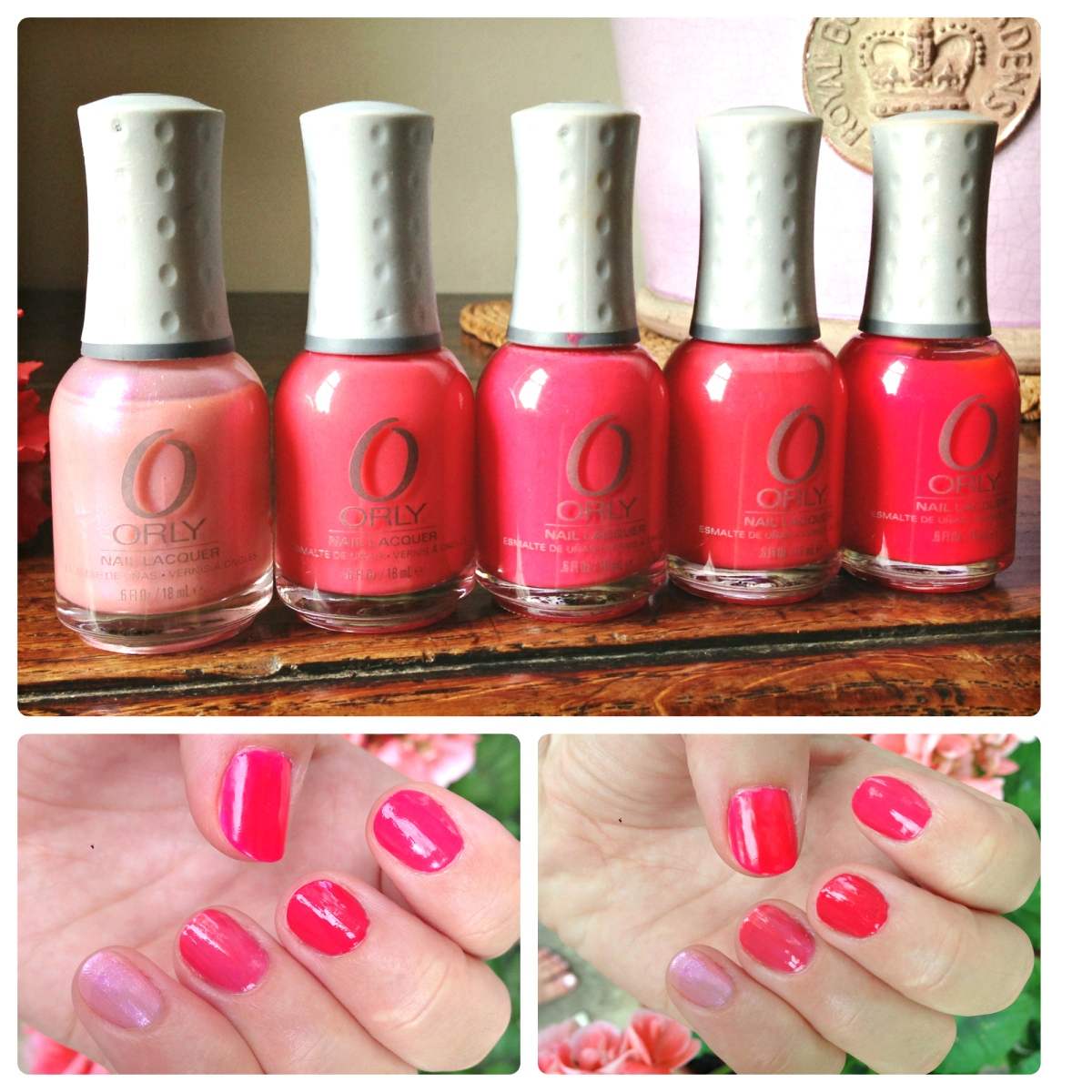 5 Perfect Pink Nail Varnishes from Orly