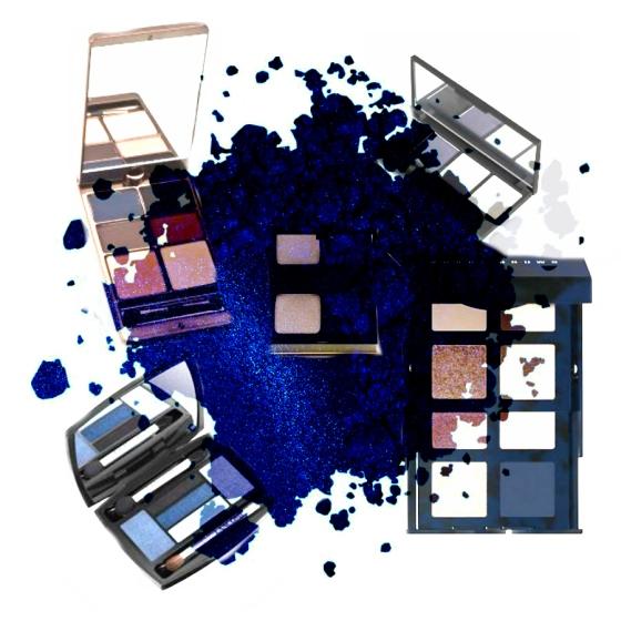 Collage Blue Anna Talks Beauty