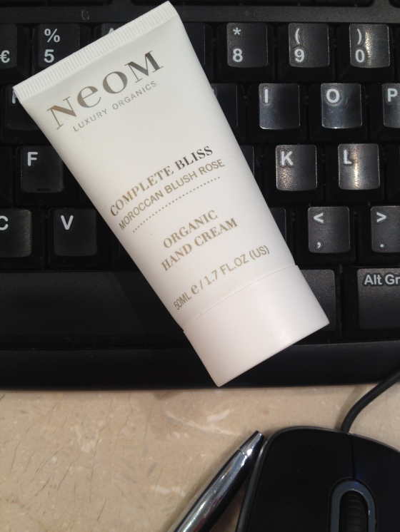Neom - Complete Bliss Hand Cream, Moroccan Blush Rose. A treat for my hands at work.