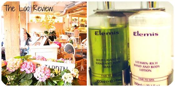 Anna Talks Beauty Aubain Wimbledon Village Elemis Lavender Hand Wash Beauty Blogger Reviews The Loo Review